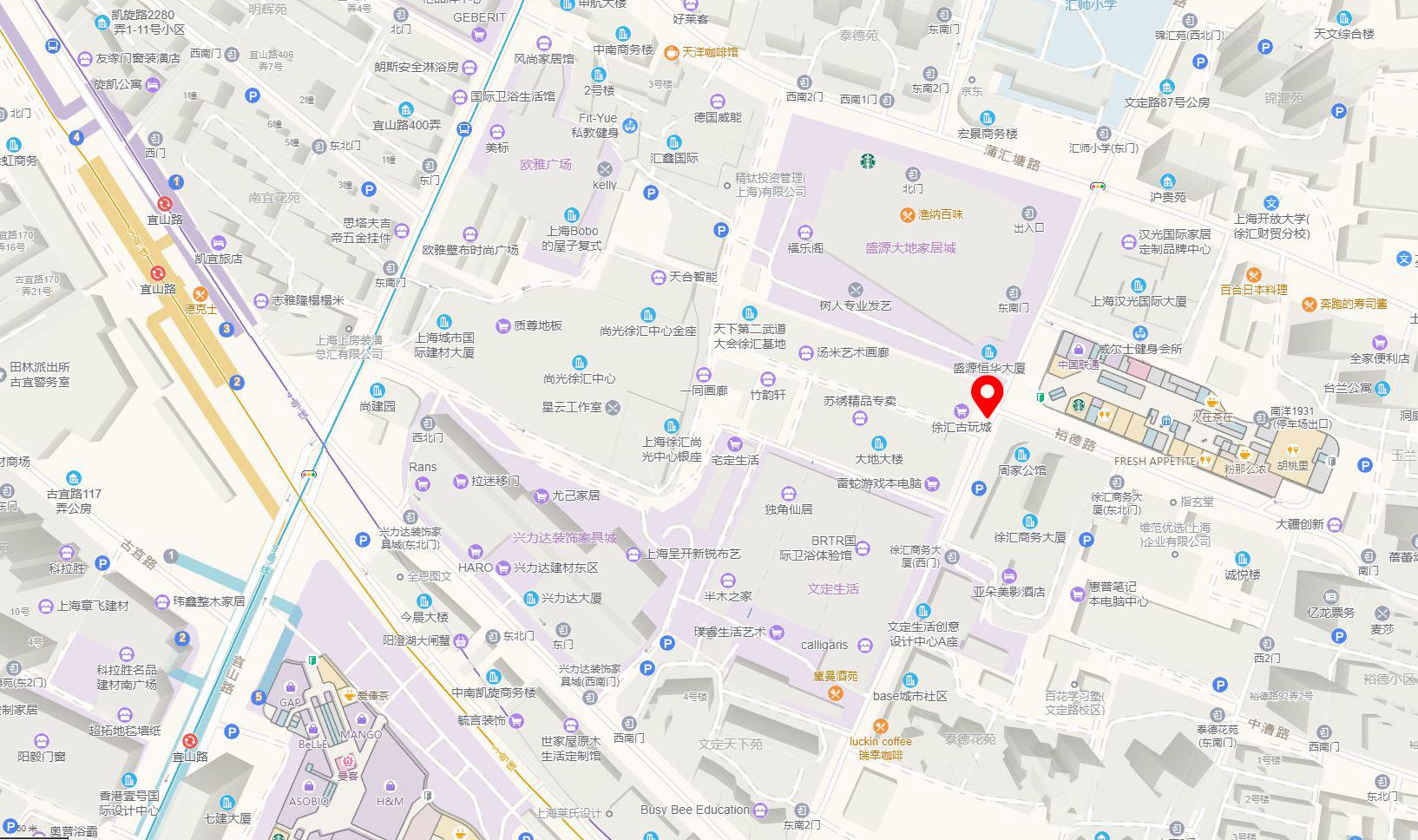 map euris china